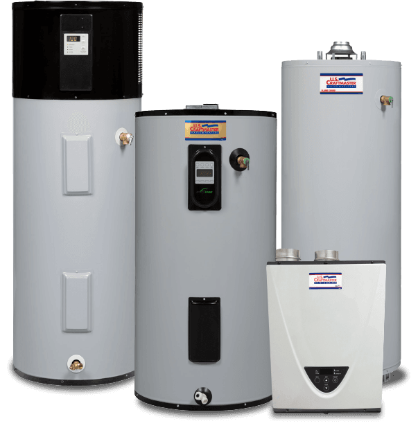 U. S. Craftmaster Water Heaters
